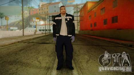 GTA 4 Emergency Ped 12 для GTA San Andreas