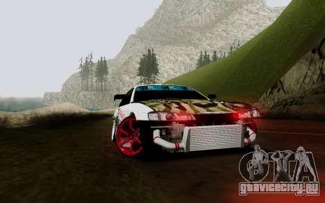 Nissan Silvia S14 VCDT V2.0 для GTA San Andreas вид сбоку