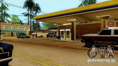 Оживление заправок Лос Сантоса для GTA San Andreas
