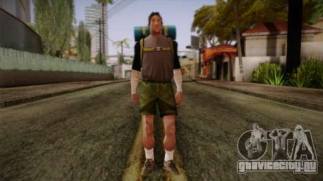GTA San Andreas Beta Skin 18 для GTA San Andreas