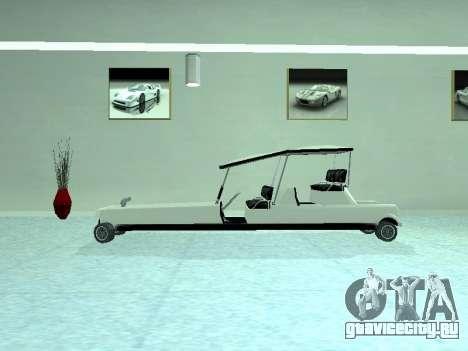 Limgolf для GTA San Andreas вид справа