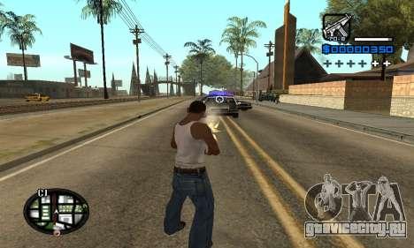 Samaro C-HUD для GTA San Andreas третий скриншот