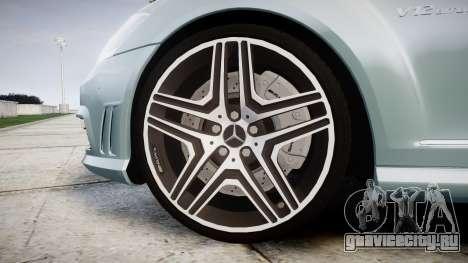 Mercedes-Benz S65 W221 AMG v2.0 rims1 для GTA 4 вид сзади