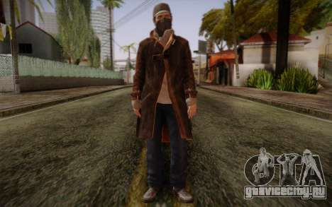 Aiden Pearce from Watch Dogs v5 для GTA San Andreas