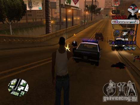C-HUD Cesar Weezy для GTA San Andreas пятый скриншот