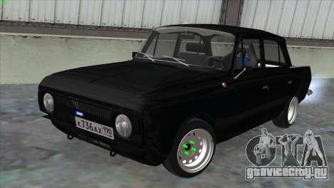 ИЖ 412 Корчевой для GTA San Andreas