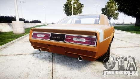 Declasse Tampa 1976 v2.0 для GTA 4 вид сзади слева