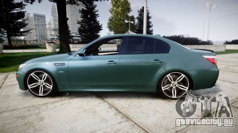 BMW M5 E60 v2.0 Stock rims для GTA 4 вид слева