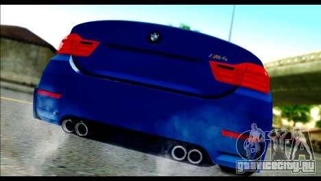 BMW M4 Stanced v2.0 для GTA San Andreas вид слева