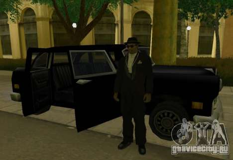 Cabbie Restyle для GTA San Andreas вид справа