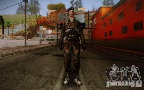 Soldier Skin 2 для GTA San Andreas