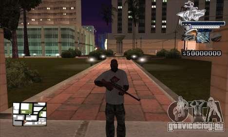 C-HUD Shark для GTA San Andreas второй скриншот