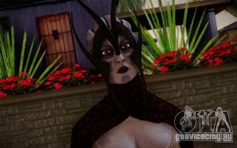Benezia Beta Final from Mass Effect для GTA San Andreas третий скриншот