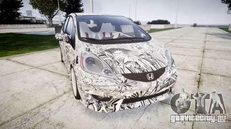 Honda Fit 2006 Sharpie для GTA 4