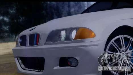 BMW M3 E46 Sedan для GTA San Andreas вид справа