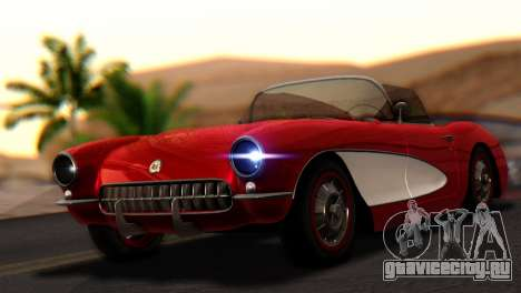 Chevrolet Corvette C1 1962 для GTA San Andreas