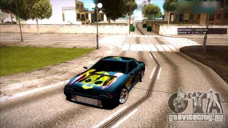 Винилы для Elegy для GTA San Andreas второй скриншот