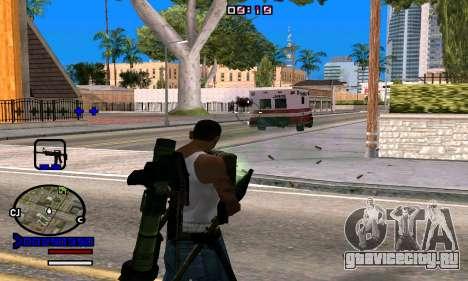 C-HUD Normal для GTA San Andreas четвёртый скриншот