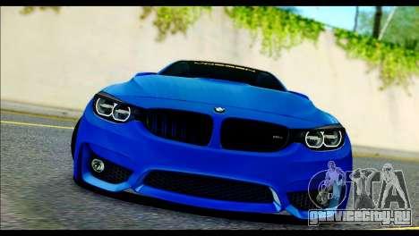 BMW M4 Stanced v2.0 для GTA San Andreas