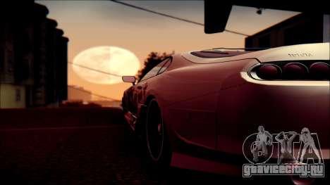 Toyota Supra Street Edition для GTA San Andreas вид сбоку