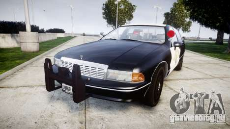 Chevrolet Caprice 1991 Highway Patrol [ELS] Slic для GTA 4