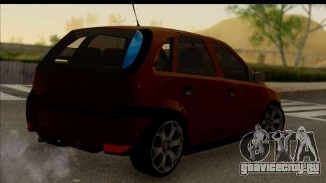 Opel Corsa C Sport для GTA San Andreas вид слева