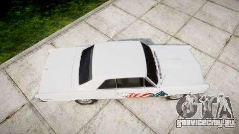 Pontiac GTO 1965 united для GTA 4 вид справа