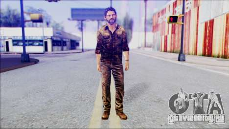 Joel from The Last Of Us для GTA San Andreas