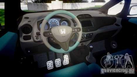Honda Fit 2006 Sharpie для GTA 4 вид изнутри