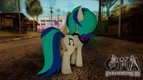 Vinyl Scratch from My Little Pony для GTA San Andreas второй скриншот