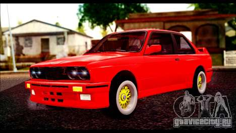 BMW M3 E30 Stock для GTA San Andreas