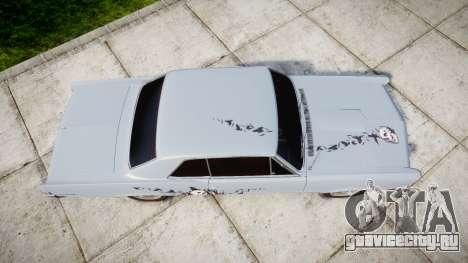 Pontiac GTO 1965 skull для GTA 4 вид справа