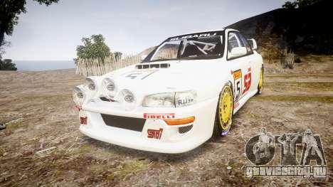 Subaru Impreza WRC 1998 v4.0 SA Competio для GTA 4