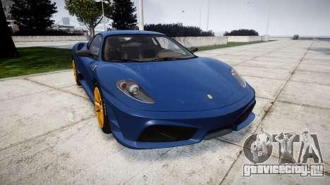 Ferrari F430 Scuderia 2007 plate Scuderia для GTA 4