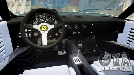 Ferrari F40 1987 [EPM] Jolly Club для GTA 4 вид изнутри