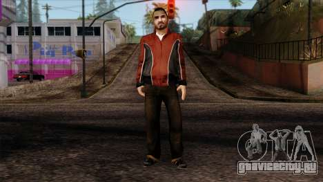 GTA 4 Skin 14 для GTA San Andreas
