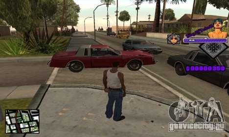 C-HUD King Of Detroit для GTA San Andreas