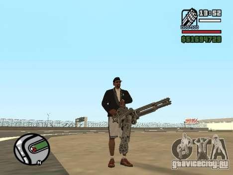 Двойное владением всем оружием для GTA San Andreas четвёртый скриншот