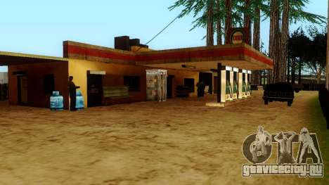 Оживление заправок Лос Сантоса для GTA San Andreas седьмой скриншот
