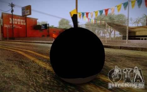 Black Bird from Angry Birds для GTA San Andreas второй скриншот