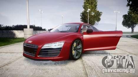 Audi R8 V10 Plus 2014 для GTA 4