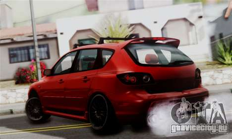 Mazda 3 MPS для GTA San Andreas вид слева