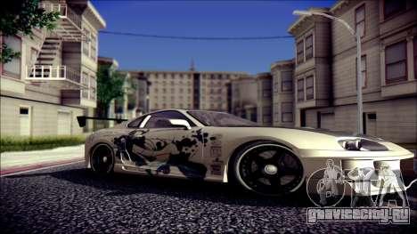 Toyota Supra Street Edition для GTA San Andreas вид справа