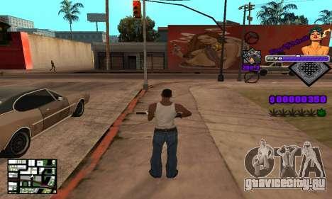 C-HUD King Of Detroit для GTA San Andreas пятый скриншот
