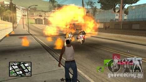 C-HUD by SampHack v.19 для GTA San Andreas третий скриншот