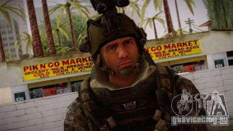 Modern Warfare 2 Skin 5 для GTA San Andreas третий скриншот