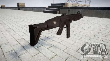 Пистолет-пулемет SMT40 для GTA 4 второй скриншот