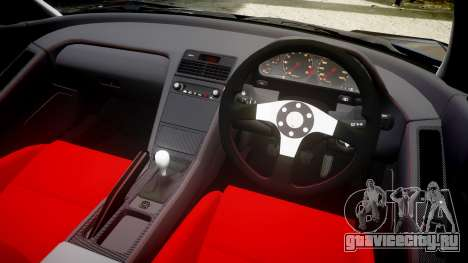 Honda NSX-R NA1 1992 [EPM] для GTA 4 вид изнутри