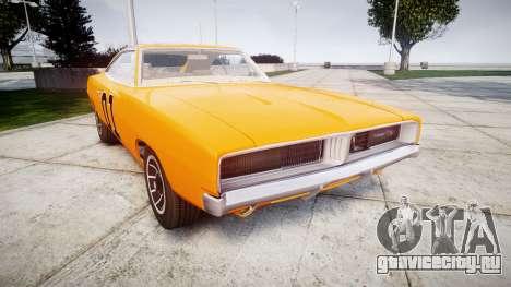 Dodge Charger RT 1969 General Lee для GTA 4
