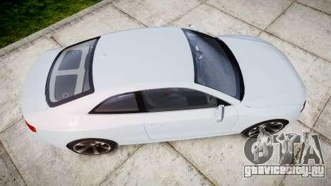 Audi RS5 2012 v2.0 для GTA 4 вид справа